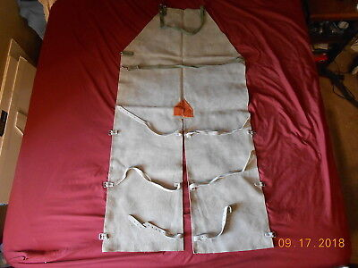 Leather Apron Welding Ferrier Full Length Leather Suede