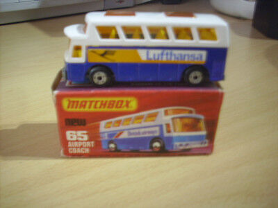 MATCHBOX SUPERFAST No.65 Airport Coach