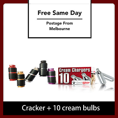 CREAM CHARGERS/NANG CRACKER BULBS QUICKWHIP- SUPREMEWHIP Cracker/Dispenser