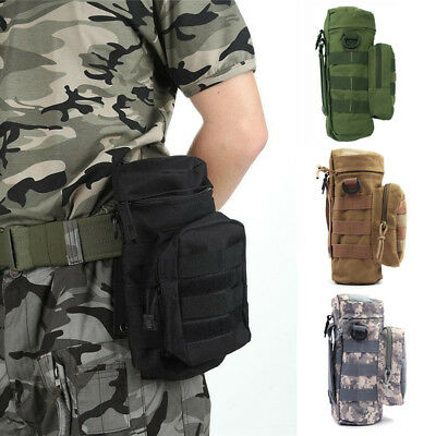 Tactical Military Molle System Water Bags Water Bottle Outdoor Bag Kettle Pouch