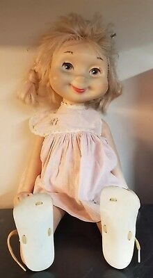 Vintage American Character Whimsie Doll Dixie the Pixie? w/ Sandals