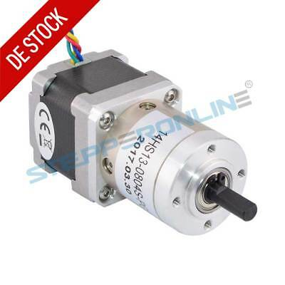 Planetengetriebe 51:1 Nema 14 Geared Stepper Motor 0.8A Schrittmotor 3D Printer