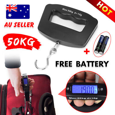 Electronic Digital Portable Luggage Scale Weight Hanging Travel Portble AU