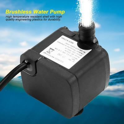 24V 350L/H Mini Brushless Low Noise Water Pump for Solar Water Heater Fish Tank
