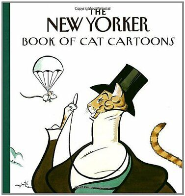 """The New Yorker Book of Cat Cartoons by """"New Yorker"""" Book The Cheap Fast Free"""