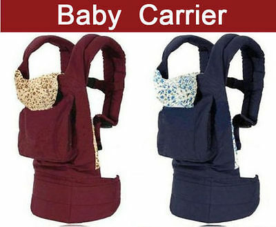 Adjustable Baby Carrier Backpack Front and Back Ergonomic Soft Structured Sling