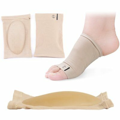 New Foot Arch Support Shoe Gel Insole Flat Pad Pain Relief Plantar Fasciitis TU