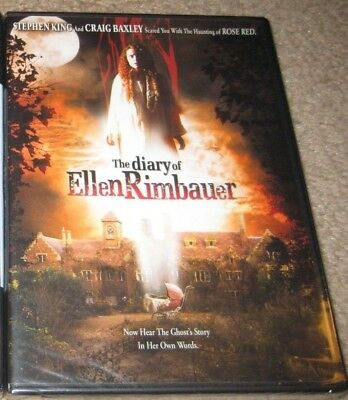The Diary of Ellen Rimbauer DVD NEW OOP R1 Stephen King SEALED Authentic
