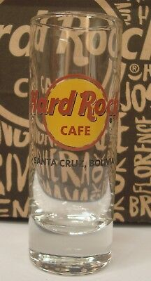 Hard Rock Cafe  Santa Cruz City, Classic Logo, Shot Glass, Cordial Collector Hrc