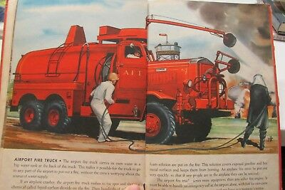 1950 Big Book Of Real Fire Engines