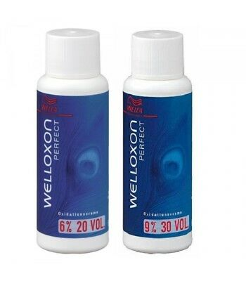Welloxon Perfect Hair Color Cream Developer/Activator/Peroxide/Oxydant - 60 ml