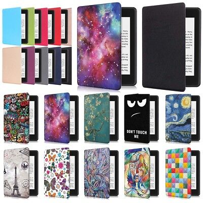 For New Amazon Kindle Paperwhite 2018 Smart Leather Magnet Folio Hard Case Cover
