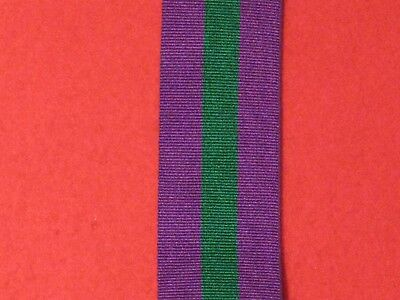 Full Size Gsm Csm General Service Medal 1918 1962 Medal Ribbon