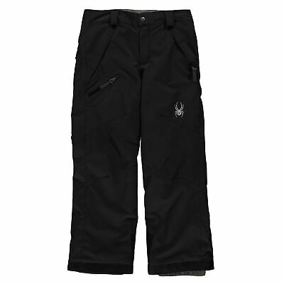 Spyder Kids Boys Propulsion Ski Pants Junior Salopettes Trousers Bottoms Water