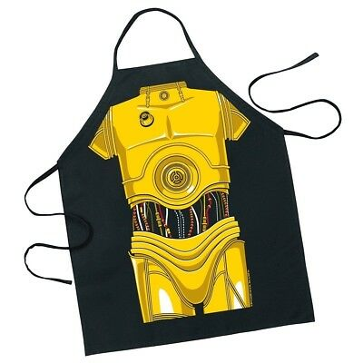ICUP Be A Character Adult Apron - STAR WARS C-3PO Character Apron