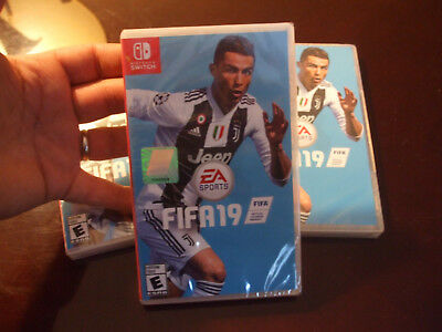 Fifa 19 Nintendo Switch Brand New Factory Sealed Us Edition Ea Sport Ronaldo