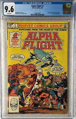Cgc 9.6 Alpha Flight #1 .. 1St Puck & Marrina .. Origin Of Alpha Flight ..