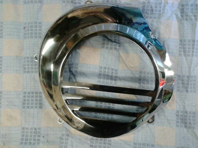 Vespa Flywheel Cover PX 125 150 200 LML Polished Stainless Steel
