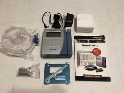 Pyramid TimeTrax EZ Time Clock System New Old Stock Sell AS IS, No Software, Box