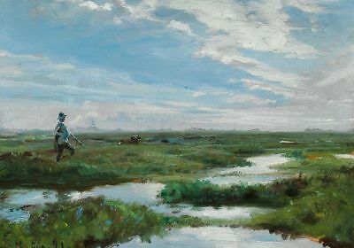 """stunning oil painting 100% handpainted on canvas """"landscape  """""""