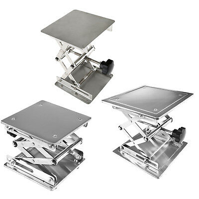 Stainless Steel Lab Stand Table Scissor Lift laboratory Jack 100/ 150/ 200mm