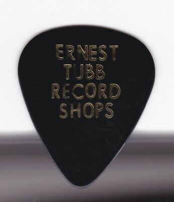 Ernest Tubb Record Store Vintage Guitar Pick Ernie Ball Made