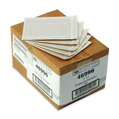Quality Park Clear Front Self-Adhesive Packing List Envelope 6 x 4-1/2 1000/box