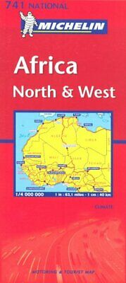 Africa North and West (Michelin National Maps) Sheet map, folded Book The Cheap