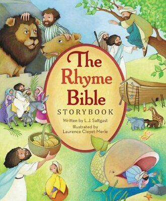 The Rhyme Bible Storybook by Sattgast, L. J. Book The Cheap Fast Free Post