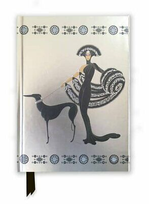 Ert� Symphony in Black (Foiled Journal) (Flame Tree N... by Flame Tree Publishin