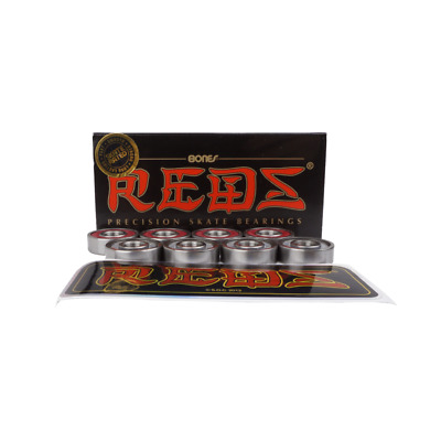 Bones Reds Skateboard Bearings (8 Pack)