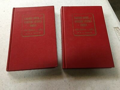 (2) vintage 1965 18th edition R.S. Yeoman Red Book Guidebook United States Coins