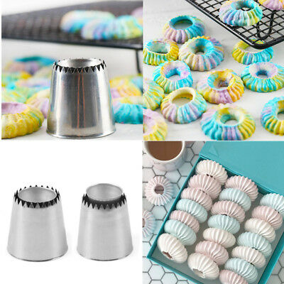 Extra Large Stainless Steel Icing Piping Nozzle Cream Cake Decorating Pastry Tip