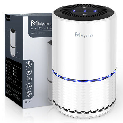 Air Purifier with True Hepa Filter, Odor Allergies Eliminator for Smokers,  Dust