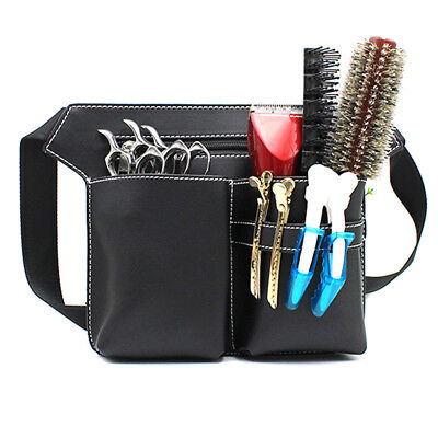 Professional Hair Scissors Comb Waist Pack Bag Hairdressing Hairpin Salon Tools