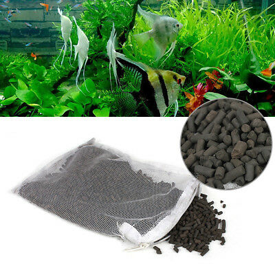 New Activated Carbon Charcoal Granulated for Aquarium Fish Tank Filter Media-ME5