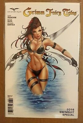 Grimm Fairy Tales 2016 Swimsuit Special (Variant Cover B ) Zenescope Comics Nm