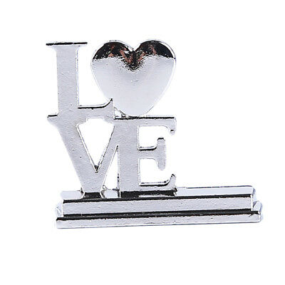 Creative Vintage Alloy Wedding Seat Clip Wedding Table Holders Seating Cards NB