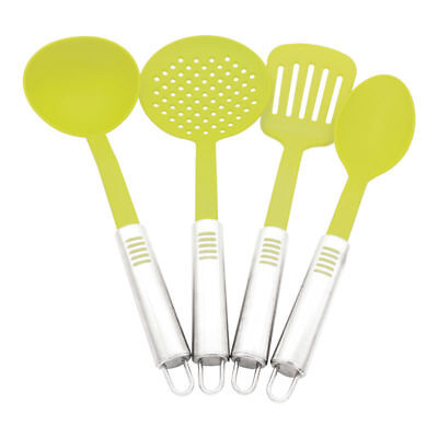 Kitchen Tools Cooking Turner Skimmer Soup Ladle Spoon Stainless Steel Handle Set