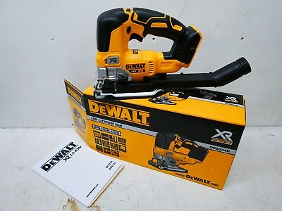 Brand New Dewalt Xr 18V Dcs334 Brushless Cordless Jigsaw Bare Unit