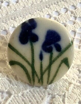 Oiye - Iris Hand Made Fired And Glazed Ceramic Buttons