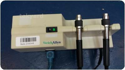 Welch Allyn 767 Series Otoscope / Ophthalmoscope Wall Mount Transformer !