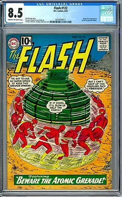 Flash #122 CGC 8.5 (C-OW) Origin & 1st Appearance of the Top