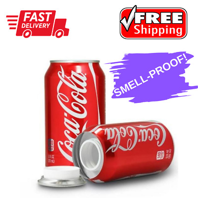 Coca Cola Coke Soda Can Diversion Safe Smell-Proof Stash Container Hiding Spot