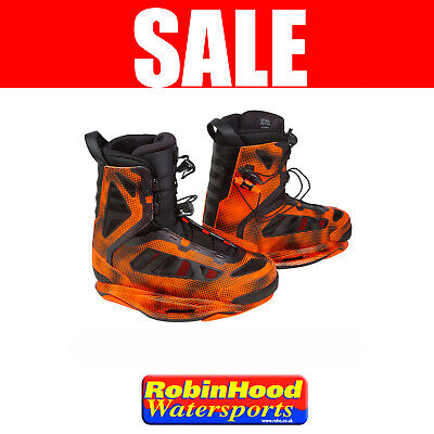 SAVE 50% - NEW Ronix Parks Closed Toe Wakeboard Bindings - UK 9 (US 10)