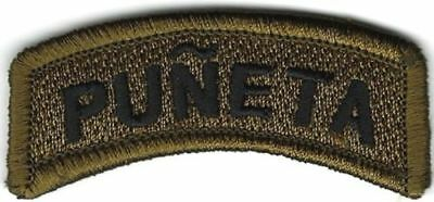Puñeta (Heck in Spanish) Tab Patch VELCRO® BRAND Hook Fastener Compatible