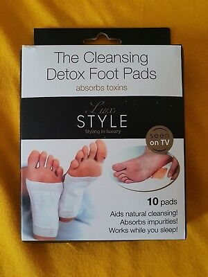 The Cleansing Detox Foot Pads
