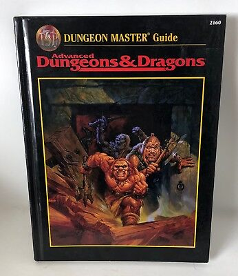Advanced Dungeons and Dragons ADD Dungeon Master Guide 1995