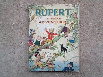 Rupert Bear Annual RARE 1944 WAR ECONOMY EDITION, PRICE UNCLIPPED 3/6