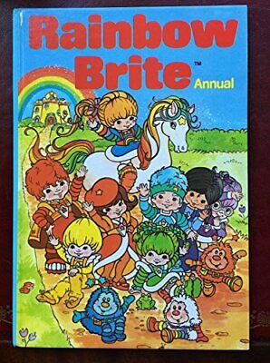 Rainbow Brite Annual by Not specified Book The Cheap Fast Free Post